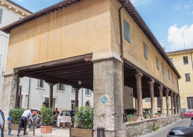 sítio arqueológico em Verona