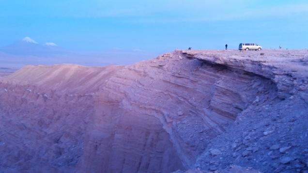 pôr do sol no Atacama