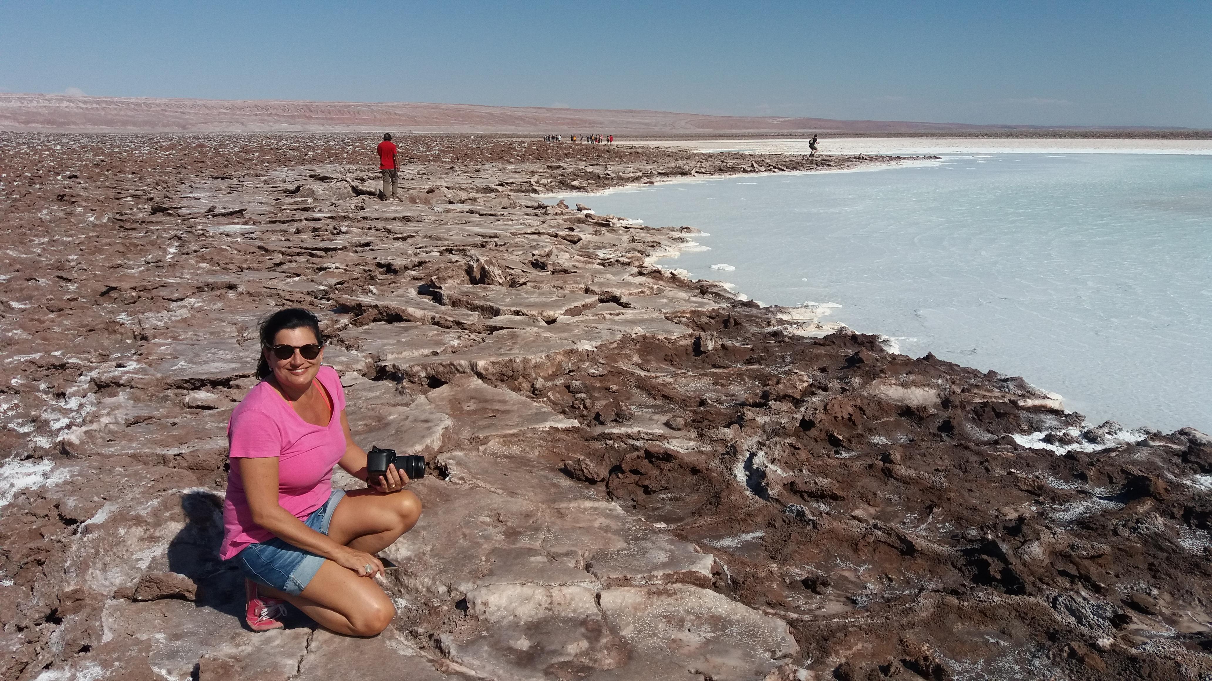 câmbio no Atacama