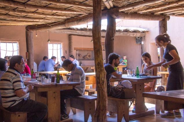 sugestões de restaurantes no Atacama