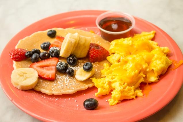 O café da manhã doce da minha filha