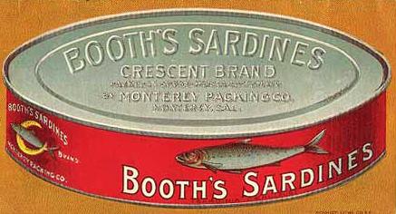 Ícone da indústria de sardinhas enlatadas