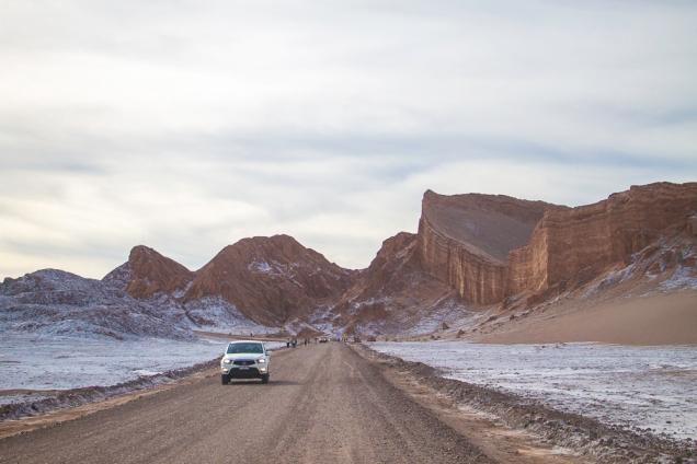 Vale da Lua e Vale da Morte Deserto Atacama