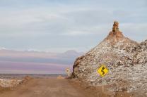 banheiro no deserto do Atacama