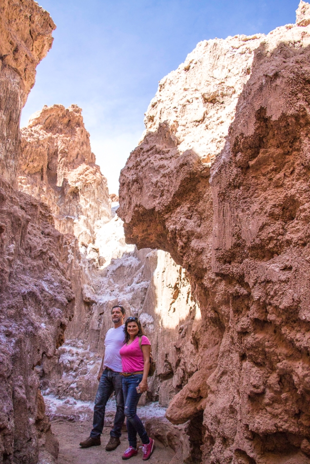 caverna de Sal Kari canion Atacama