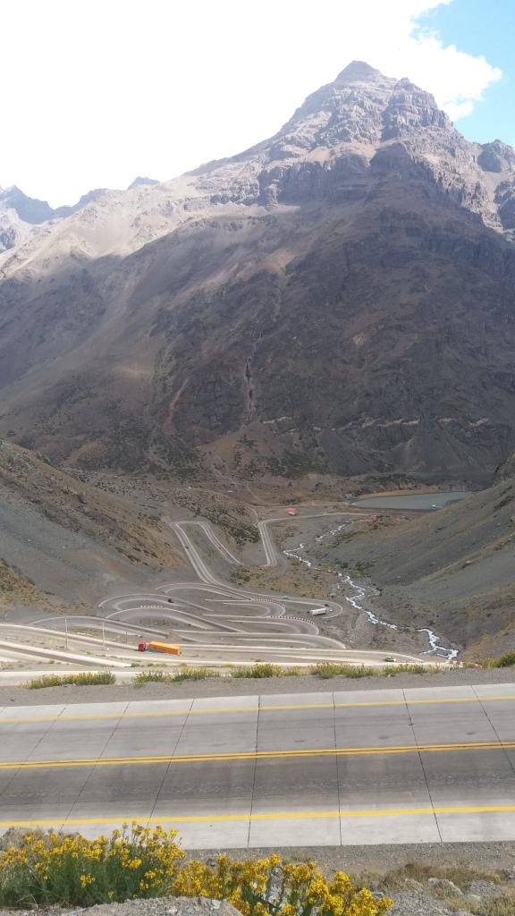 Chile Caracoles estrada sinuosa