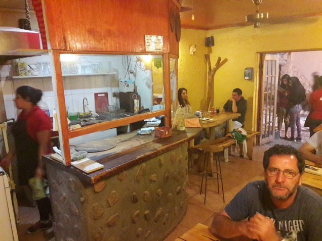 tipo de comida no Atacama