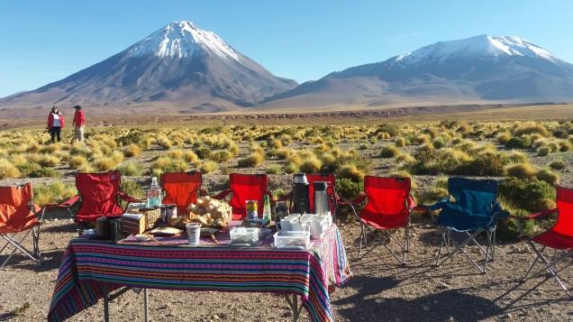 onde comer nos passeios do Atacama