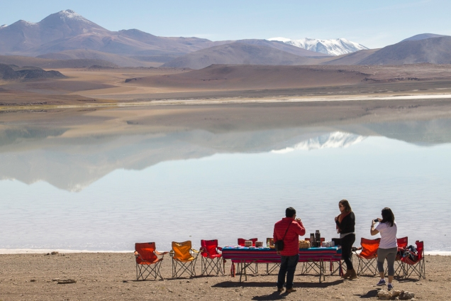 onde comer nos tours do Atacama