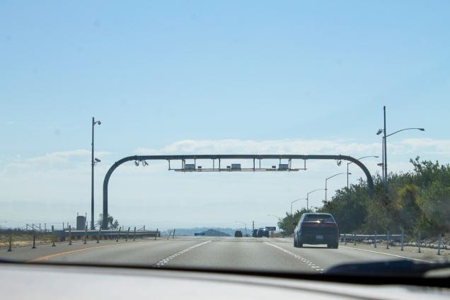 dirigindo na Califórnia