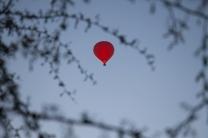 balão no Atacama