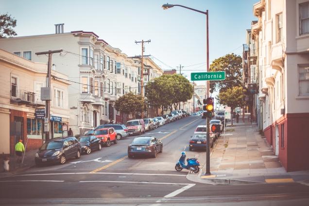 como é dirigir na Califórnia