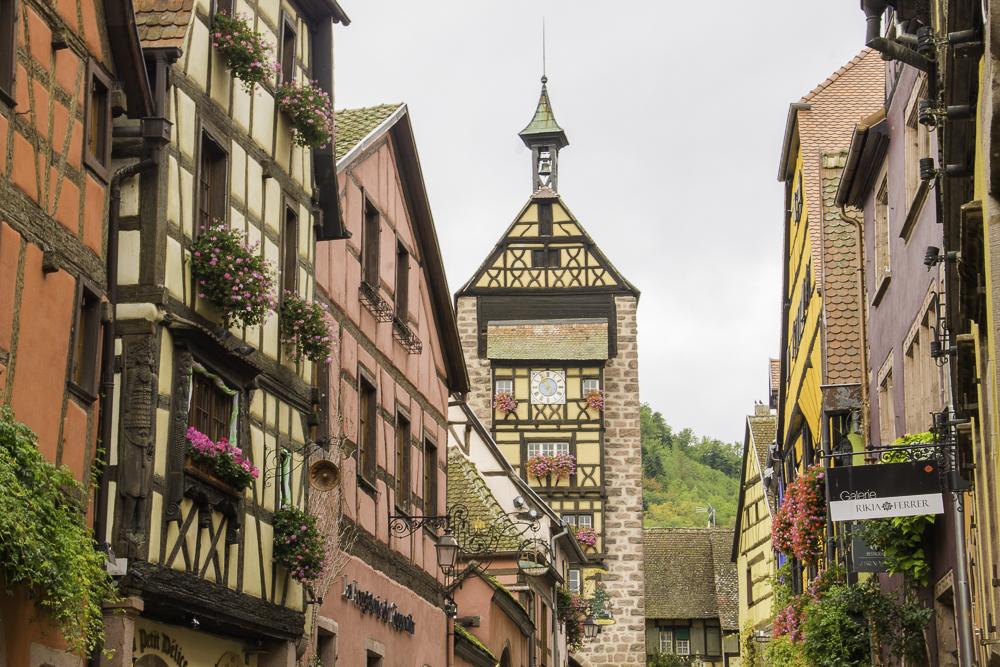 que cidades visitar na Alsácia
