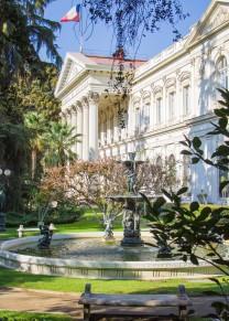 Jardim do antigo Congresso Nacional