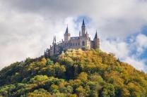 o Castelo visto da estradinha