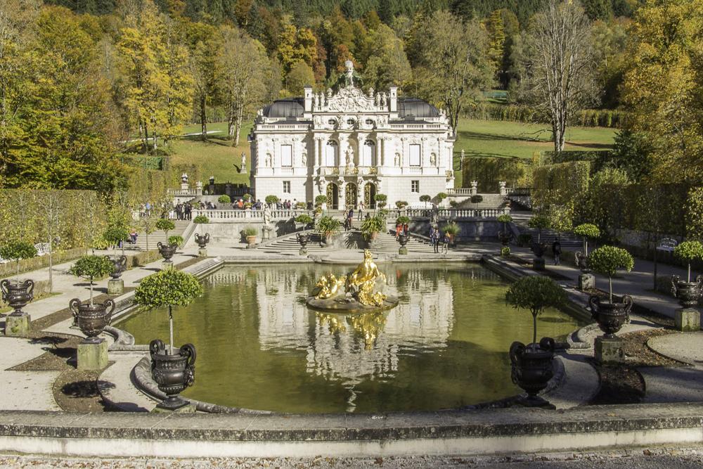palácio de Linderhof Alemanha