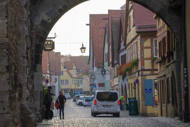Rota Romântica Alemã cidades