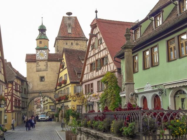 Rota Romântica Alemã Rothenburg