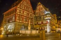 a praça principal de Rothenburg
