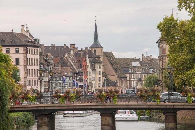 Estrasburgo hotel perto da estação trem