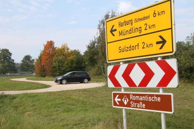 Rota Romântica Alemã estradas