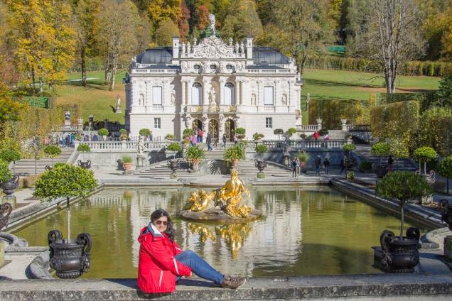 Rota Romântica Alemã castelo linderhof