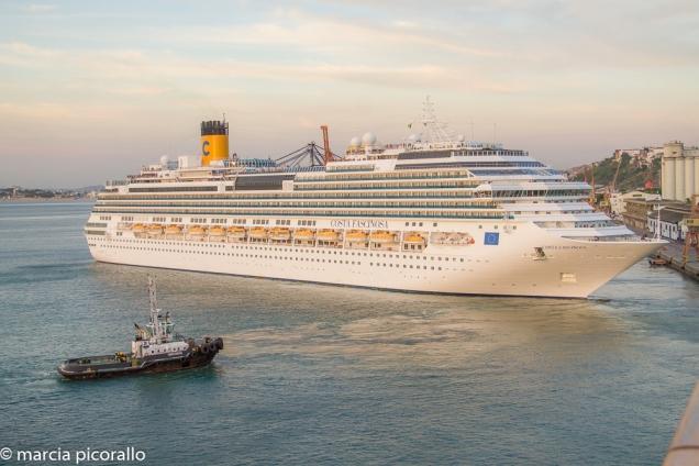 navio cruzeiro Salvador