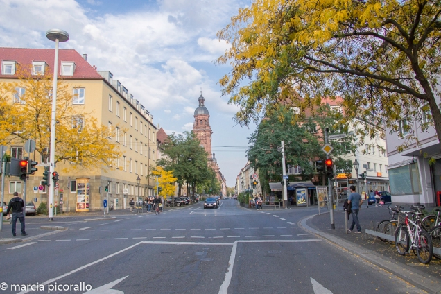 Wurzburg de trem Frankfurt