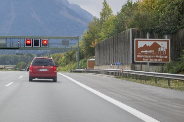 sinalização estradas Alemanha