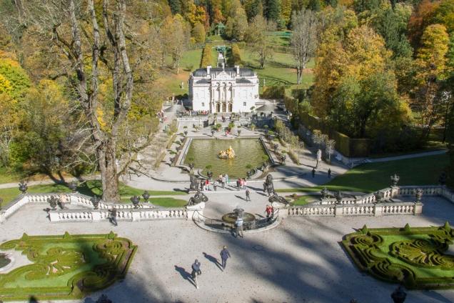 Castelos de Ludwick II Linderhof
