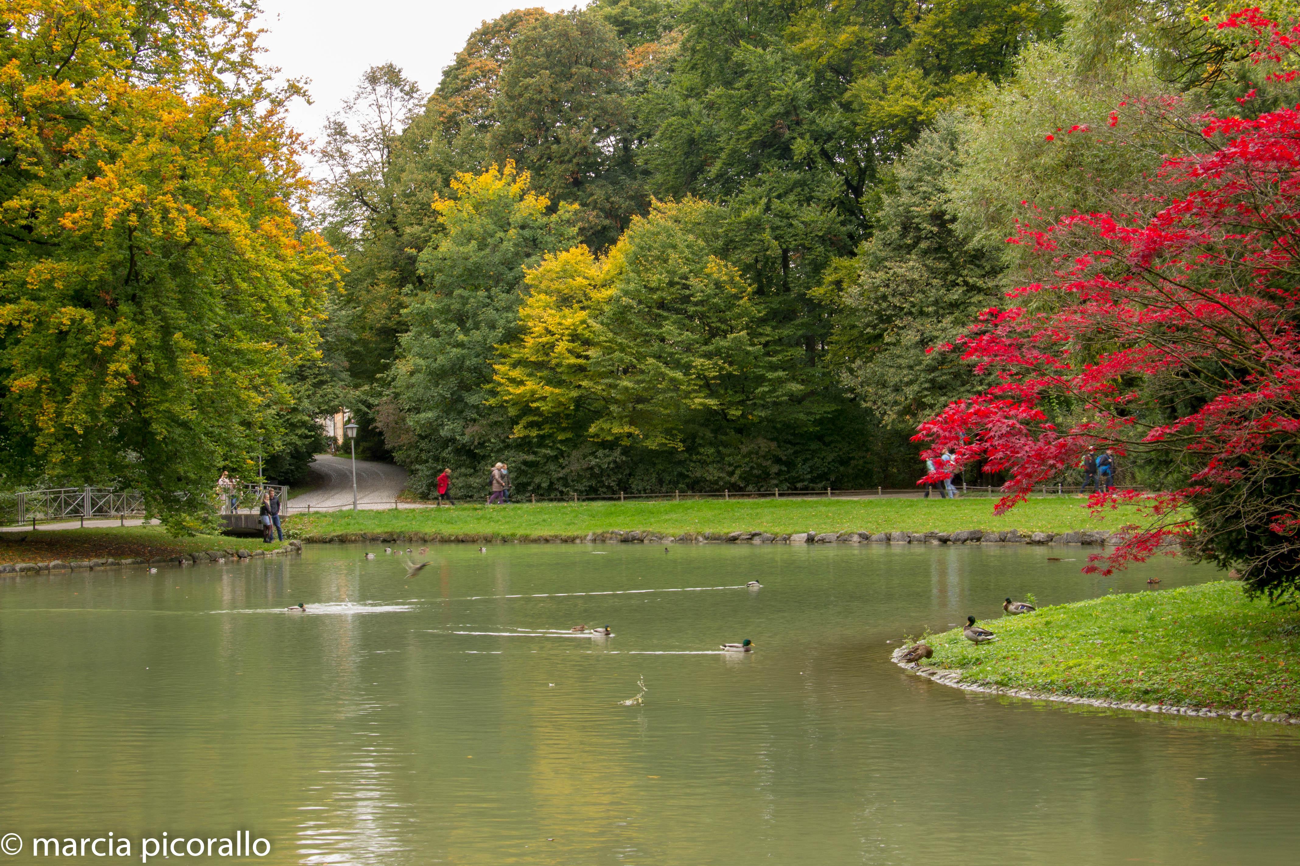 Munique parque Jardim Inglês