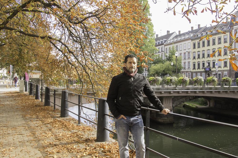 outono em Estrasburgo Alsácia