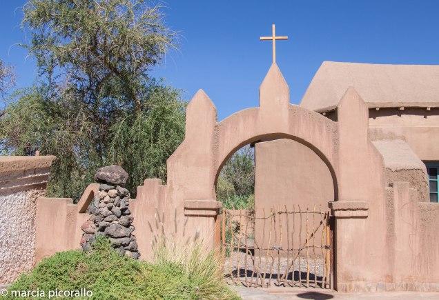 igreja San Pedro Atacama