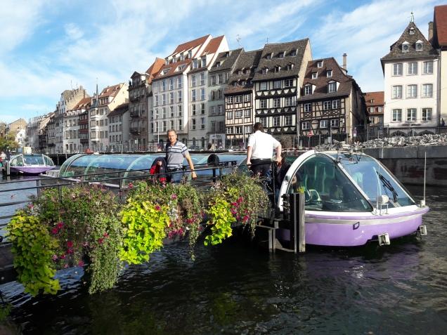 Estrasburgo passeio de barco