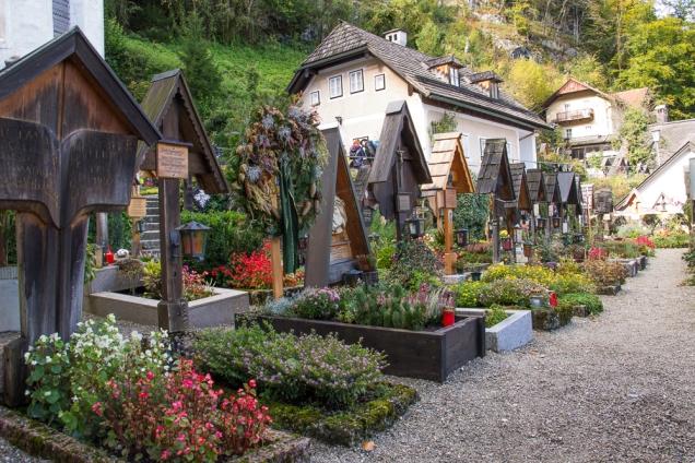 cemitério Hallstatt