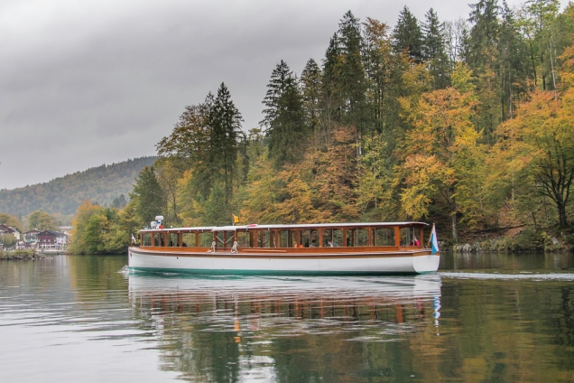 bate-voltas de Munique passeio barco lago Konigsee Alemanha