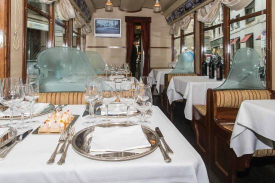 restaurante Milão bonde turístico