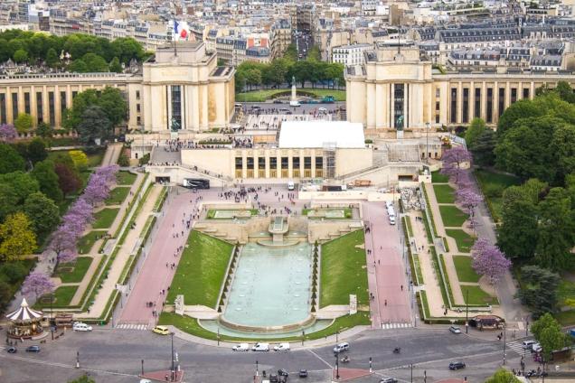 Paris vista da Torre Eiffel ingressos