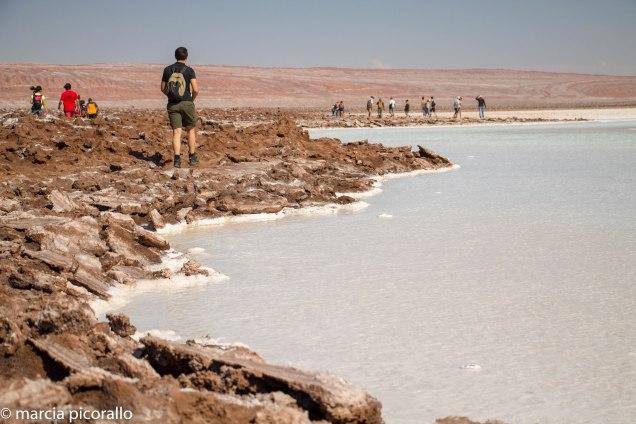 Lagunas Escondidas Atacama como é