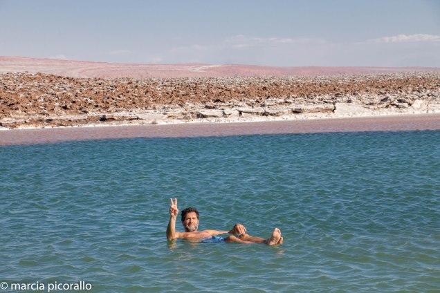 Lagunas Escondidas Atacama tem ducha