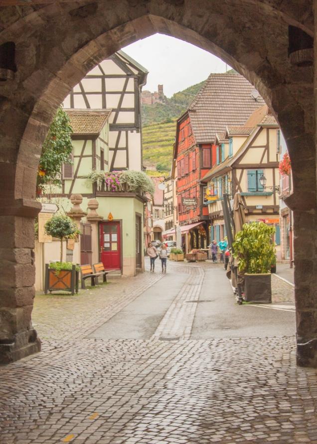 itinerário Rota do Vinho Alsácia
