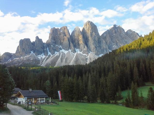 onde ficar nas Dolomitas Funes
