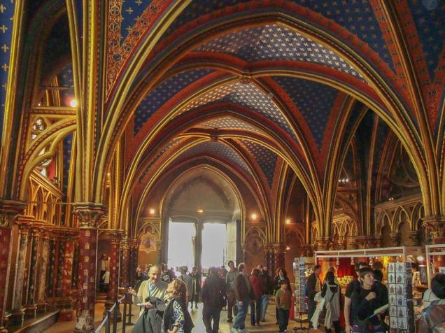 igreja Sainte Chapelle Paris