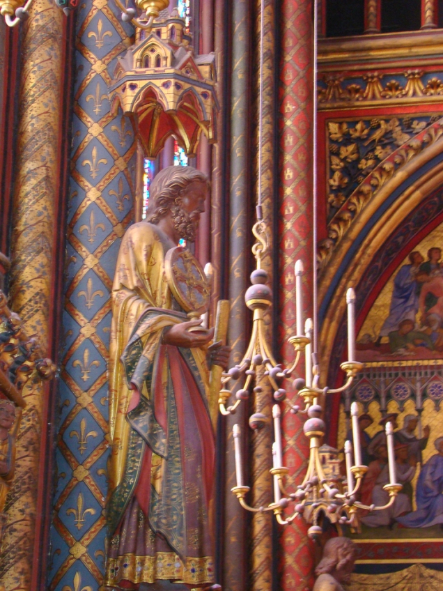 França_igrejas_paris_Sainet-Chapelle