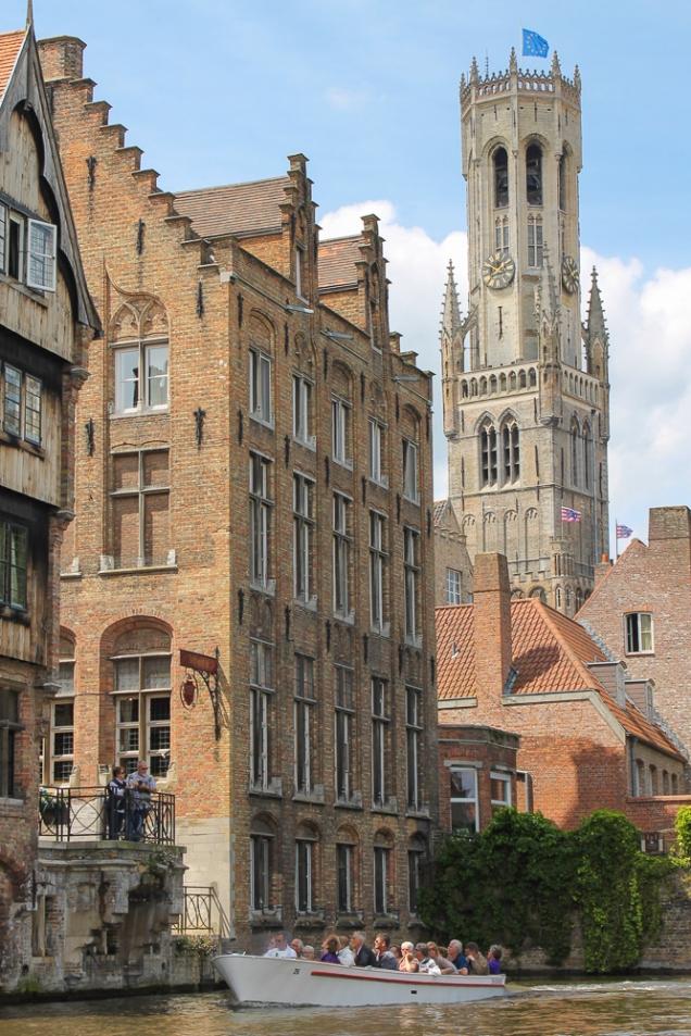 Bruges passeio canal
