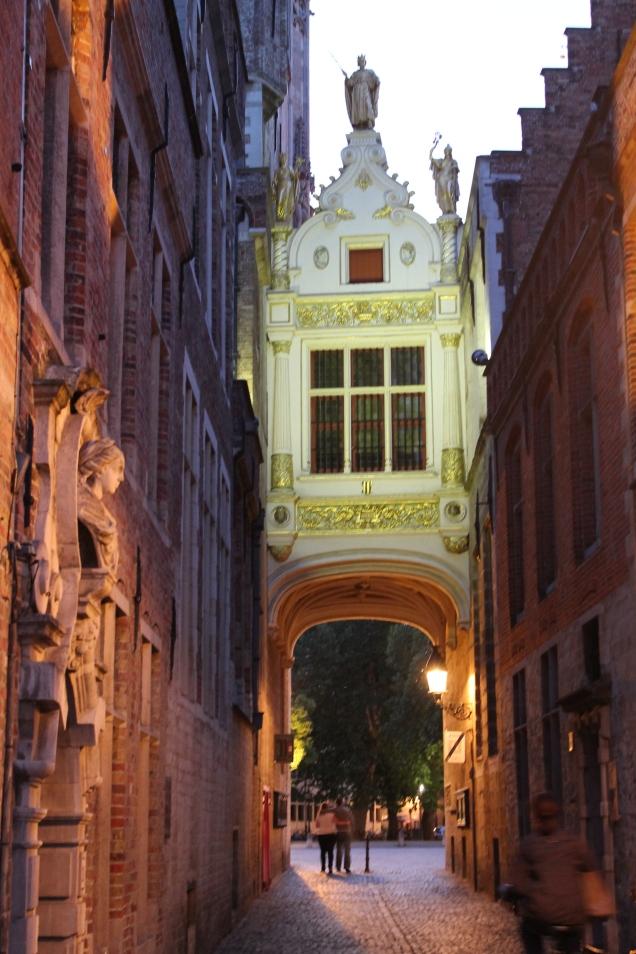 Bruges Burg praça