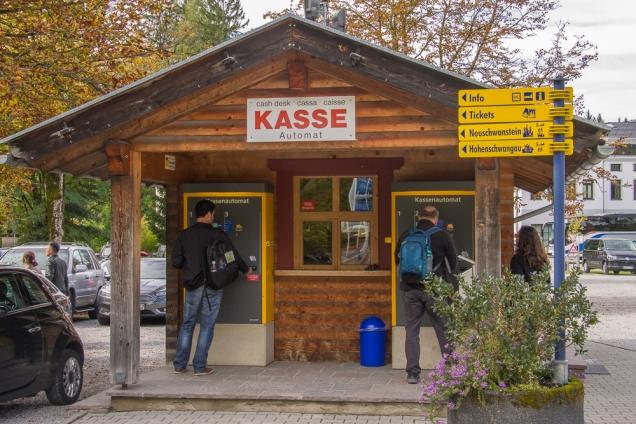 Neuschwanstein-estacionamento