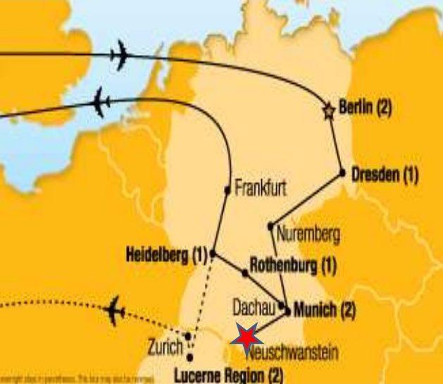 neuschwanstein localização