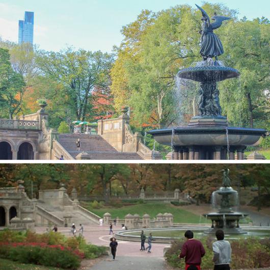 filmes no Central Park