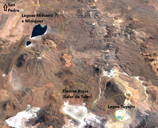 Como é Lagunas Altiplânicas Atacama